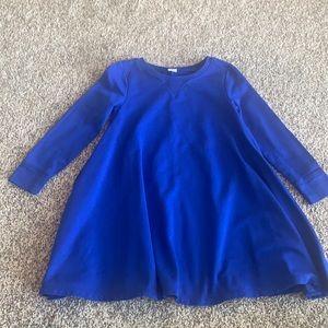 Old Navy blue swing dress